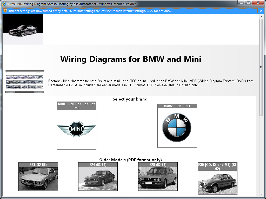 BMW WDS on Windows 10 x64 running correctly